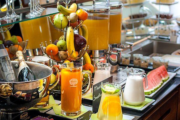 Frühstücken im Hotel Donauwalzer