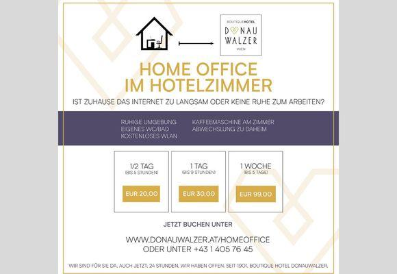 Home Office im Hotel Informationen