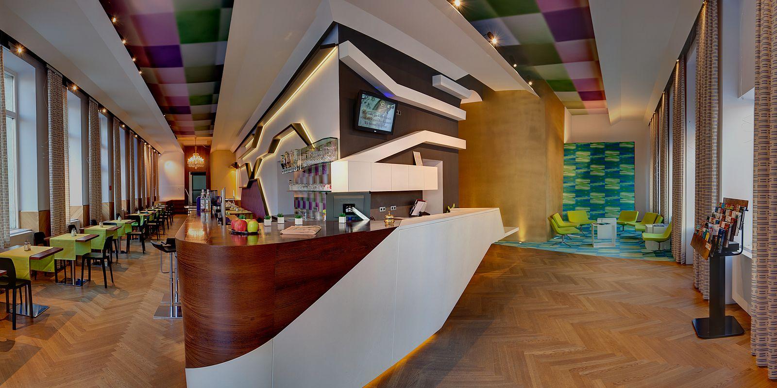 Lobby und Bar Hotel Donauwalzer