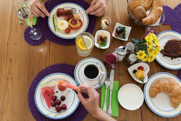 Frühstück im Donauwalzer