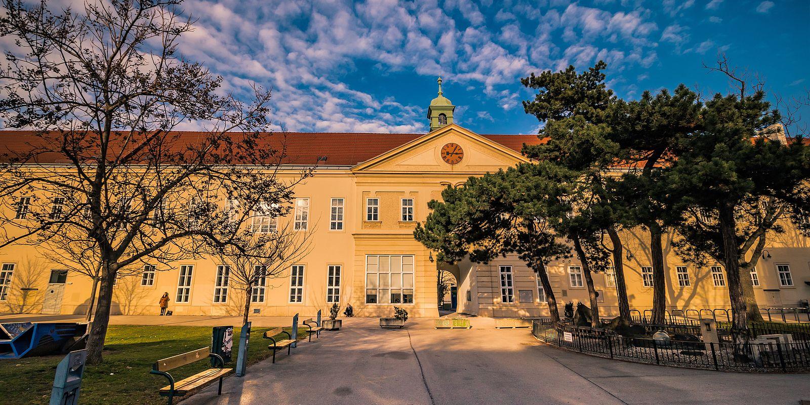 Altes AKH und Campus der Uni Wien