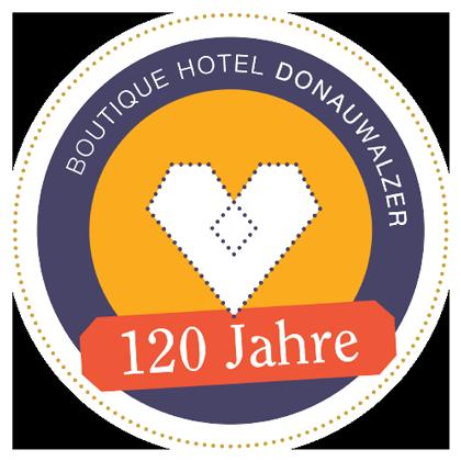 Jubiläum - 120 Jahre Boutique Hotel Donauwalzer